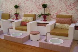 nail salon interior