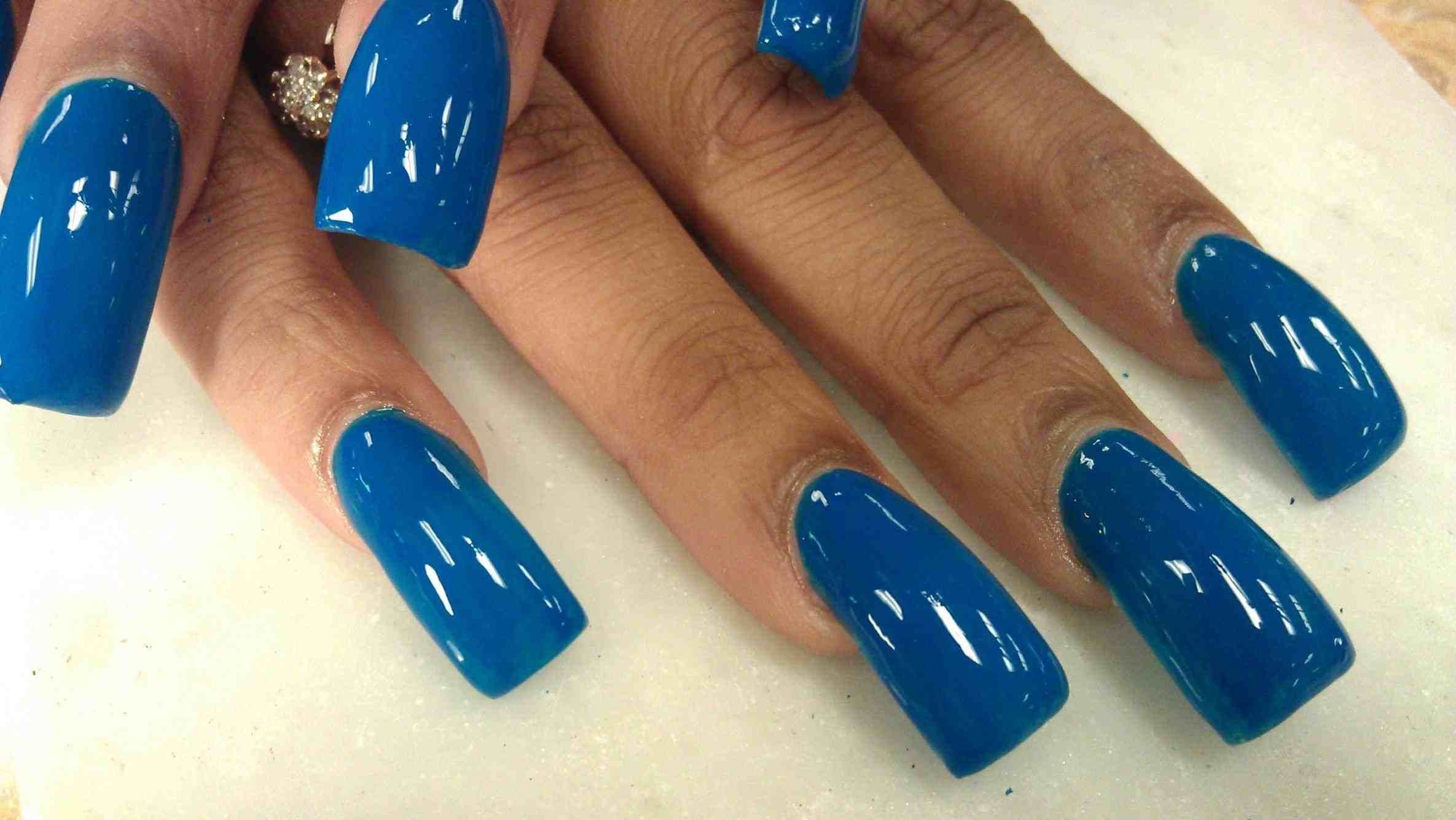 What are Acrylic Nails - Next Step Beauty