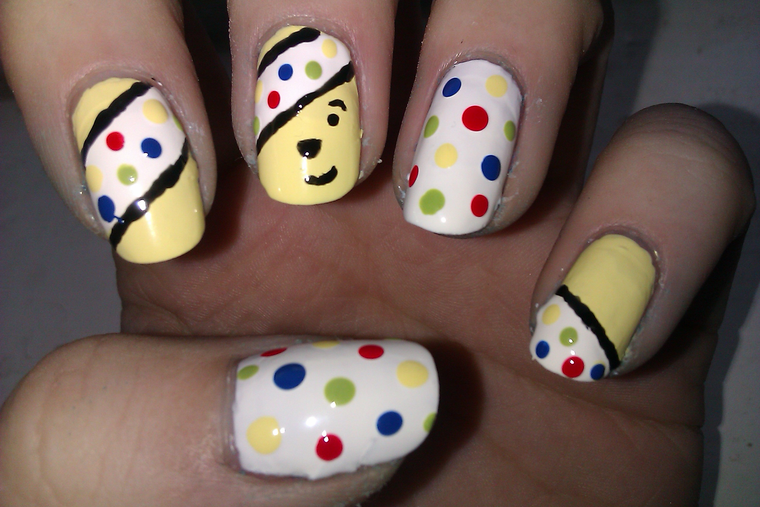 Children In Need Nail Art Next Step Beauty
